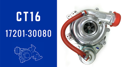 CT16 17201-30080 Turbochargers Water Cooled