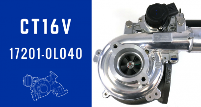 CT16V 172010L040 Turbocharger With Electronic Actuator