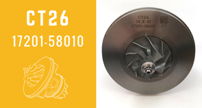CT26 17201-58010 Turbocharger Cartridge CHRA