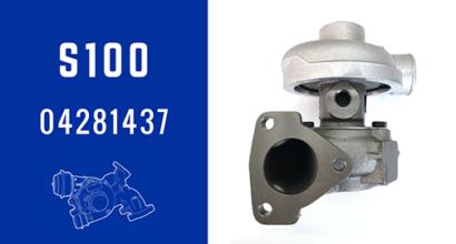 S100 04281437 Turbochargers For Deutz Industrial Engine