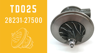 TD025 28231-27500 Turbochargers Cartridge For D3EA Engine